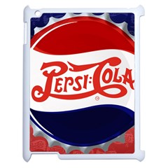 Pepsi Cola Apple Ipad 2 Case (white) by Onesevenart