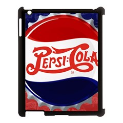 Pepsi Cola Apple Ipad 3/4 Case (black) by Onesevenart