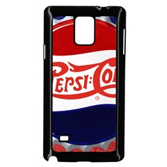 Pepsi Cola Samsung Galaxy Note 4 Case (black) by Onesevenart