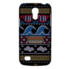 Ugly Summer Ugly Holiday Christmas Black Background Galaxy S4 Mini by Onesevenart