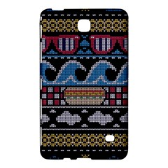 Ugly Summer Ugly Holiday Christmas Black Background Samsung Galaxy Tab 4 (8 ) Hardshell Case  by Onesevenart