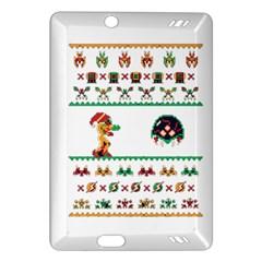 We Wish You A Metroid Christmas Ugly Holiday Christmas Amazon Kindle Fire Hd (2013) Hardshell Case by Onesevenart