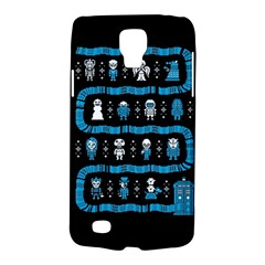 Who Is Outside Ugly Holiday Christmas Black Background Galaxy S4 Active by Onesevenart