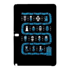 Who Is Outside Ugly Holiday Christmas Black Background Samsung Galaxy Tab Pro 10 1 Hardshell Case by Onesevenart