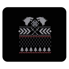 Winter Is Coming Game Of Thrones Ugly Christmas Black Background Double Sided Flano Blanket (small)  by Onesevenart