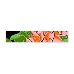Decorative Flowers Flano Scarf (mini) by Valentinaart
