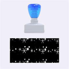 Decorative Xmas Snowflakes Rubber Stamps (medium)  by Valentinaart