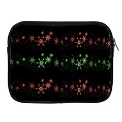 Decorative Xmas Snowflakes Apple Ipad 2/3/4 Zipper Cases by Valentinaart
