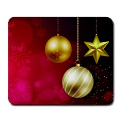 Lamp Star Merry Christmas Large Mousepads by AnjaniArt