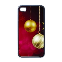 Lamp Star Merry Christmas Apple Iphone 4 Case (black) by AnjaniArt