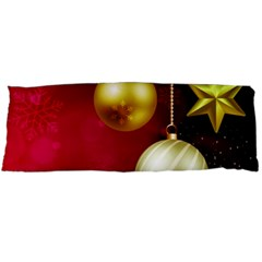 Lamp Star Merry Christmas Body Pillow Case (dakimakura) by AnjaniArt