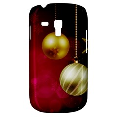 Lamp Star Merry Christmas Samsung Galaxy S3 Mini I8190 Hardshell Case by AnjaniArt