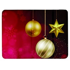 Lamp Star Merry Christmas Samsung Galaxy Tab 7  P1000 Flip Case by AnjaniArt