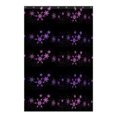 Purple Elegant Xmas Shower Curtain 48  X 72  (small)  by Valentinaart