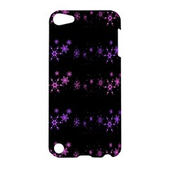 Purple Elegant Xmas Apple Ipod Touch 5 Hardshell Case by Valentinaart