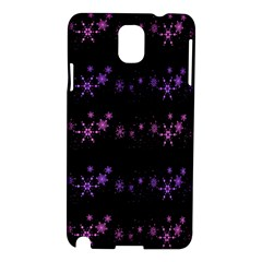 Purple Elegant Xmas Samsung Galaxy Note 3 N9005 Hardshell Case by Valentinaart
