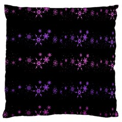 Purple Elegant Xmas Standard Flano Cushion Case (one Side) by Valentinaart
