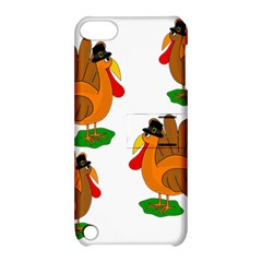 Thanksgiving Turkeys Apple Ipod Touch 5 Hardshell Case With Stand by Valentinaart