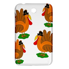 Thanksgiving Turkeys Samsung Galaxy Tab 3 (7 ) P3200 Hardshell Case  by Valentinaart