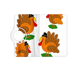 Thanksgiving Turkeys Kindle Fire Hd (2013) Flip 360 Case by Valentinaart