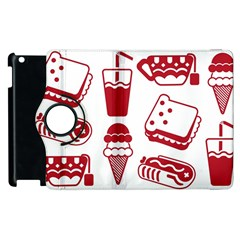 Mad Ice Ernies Tea Bred Apple Ipad 3/4 Flip 360 Case by AnjaniArt