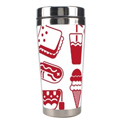 Mad Ice Ernies Tea Bred Stainless Steel Travel Tumblers by AnjaniArt