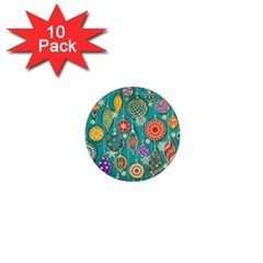 Ornaments Homemade Christmas Ornament Crafts 1  Mini Magnet (10 Pack)  by AnjaniArt