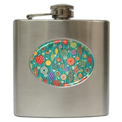 Ornaments Homemade Christmas Ornament Crafts Hip Flask (6 Oz) by AnjaniArt