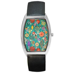 Ornaments Homemade Christmas Ornament Crafts Barrel Style Metal Watch by AnjaniArt