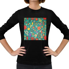Ornaments Homemade Christmas Ornament Crafts Women s Long Sleeve Dark T Shirts by AnjaniArt
