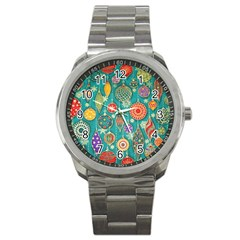 Ornaments Homemade Christmas Ornament Crafts Sport Metal Watch by AnjaniArt