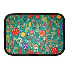 Ornaments Homemade Christmas Ornament Crafts Netbook Case (medium)  by AnjaniArt