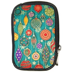 Ornaments Homemade Christmas Ornament Crafts Compact Camera Cases by AnjaniArt