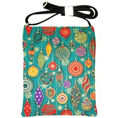 Ornaments Homemade Christmas Ornament Crafts Shoulder Sling Bags by AnjaniArt