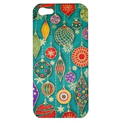 Ornaments Homemade Christmas Ornament Crafts Apple Iphone 5 Hardshell Case by AnjaniArt