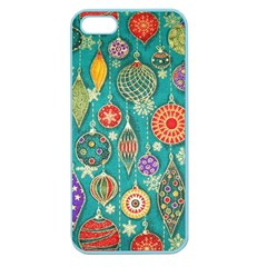 Ornaments Homemade Christmas Ornament Crafts Apple Seamless Iphone 5 Case (color) by AnjaniArt
