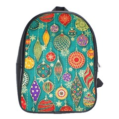 Ornaments Homemade Christmas Ornament Crafts School Bags (xl)  by AnjaniArt