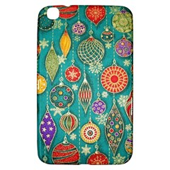 Ornaments Homemade Christmas Ornament Crafts Samsung Galaxy Tab 3 (8 ) T3100 Hardshell Case  by AnjaniArt
