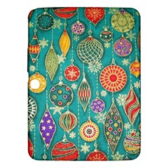 Ornaments Homemade Christmas Ornament Crafts Samsung Galaxy Tab 3 (10 1 ) P5200 Hardshell Case  by AnjaniArt