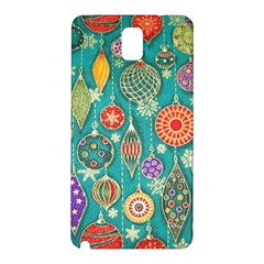 Ornaments Homemade Christmas Ornament Crafts Samsung Galaxy Note 3 N9005 Hardshell Back Case by AnjaniArt