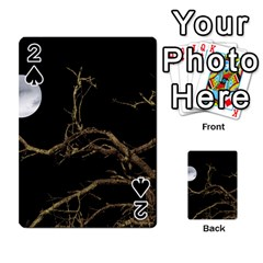 Nature Dark Scene Playing Cards 54 Designs  by dflcprints