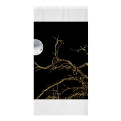 Nature Dark Scene Shower Curtain 36  X 72  (stall)  by dflcprints