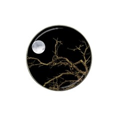 Nature Dark Scene Hat Clip Ball Marker by dflcprints