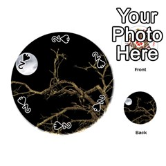 Nature Dark Scene Playing Cards 54 (round)  by dflcprints