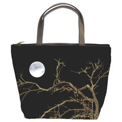Nature Dark Scene Bucket Bags by dflcprints