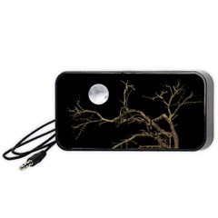 Nature Dark Scene Portable Speaker (black)  by dflcprints