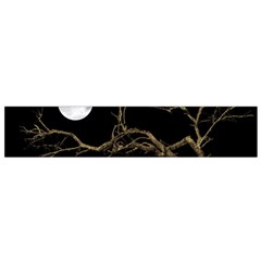Nature Dark Scene Flano Scarf (small)  by dflcprints