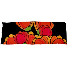 Orange Tulips Body Pillow Case (dakimakura)