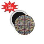 Multicolor Abstract 1.75  Magnets (10 pack)