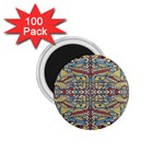 Multicolor Abstract 1.75  Magnets (100 pack)